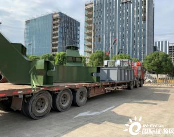 上海装备津巴布韦国首台斗轮机集港完成顺利发运