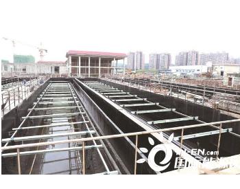 湖南星沙污水处理厂扩容(四期)提标项目正式试通水