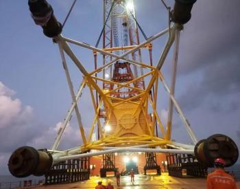 国内最大!中铁科工轨道公司首套海上风电导管架发运