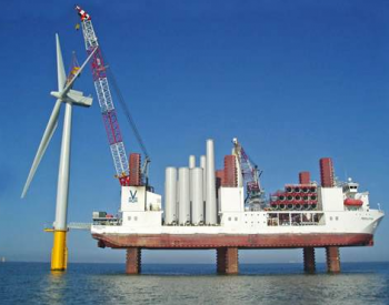 支持15MW风机安装!中国船厂将建造全球最大风电安装船