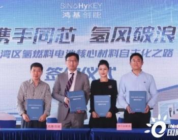 鸿基创能,通用氢能、济平新能源、东材科技四方签署氢能战略合作协议