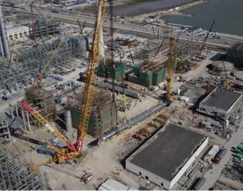 浙江石化(<em>二期</em>)工程油渣制氢<em>项目</em>设备吊装成功