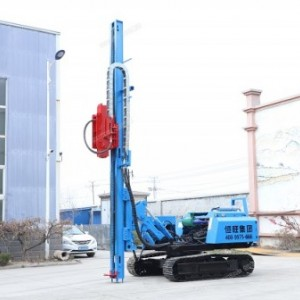 HWZG-600L履带压桩机6米光伏液压压桩机