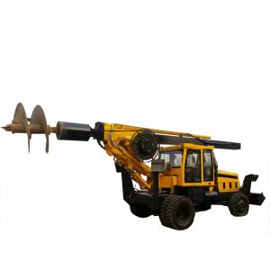 大口径轮式旋挖钻机15米旋挖热卖