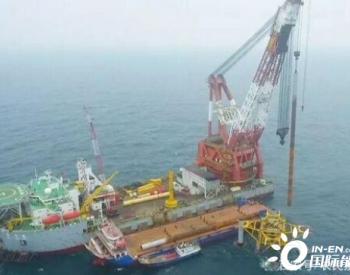 广州海上风电工程,大型风电安装船实现港口成套<em>风机设备</em>整体发运