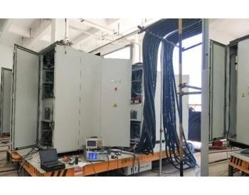 东方自控首台7MW海上风电变流器顺利完成整机测