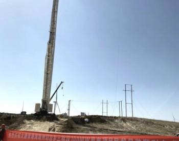 喜讯!大唐青海切<em>吉</em>乡三标段100MW风电项目风机吊装顺利完成