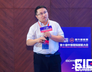 中国电科院李官军:中高压大容量储能技术研究