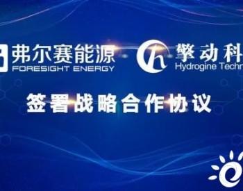 弗尔赛&擎动签约:就催化剂、膜电极等核心零部件深入合作