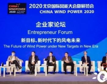 CWP2020嘉宾观点汇编(1)企业家论坛——聚焦新目标、新时代下的风电未来