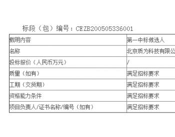 中标丨湖南公司江永风电飞龙风电场远程智能监控平台与图像识别系统采购公开招标中标候选人公示
