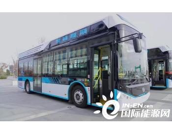 上新!15辆<em>氢燃料电池公交车</em>即将在吉林省白城市投入运营