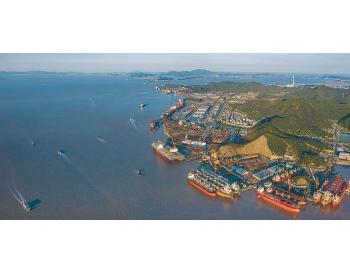 船舶水污染物联合监管信息平台建立 浙江舟山首张