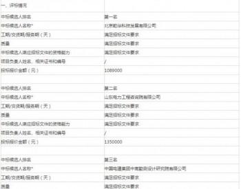 中标 | 华能金乡马庙光伏电站一期50兆瓦项目勘察