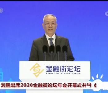 国务院副总理刘鹤:大力发展清洁能源、可再生能源和绿色环保产业!