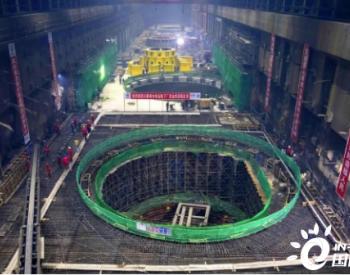 白鹤滩水电站地下厂房全线封顶