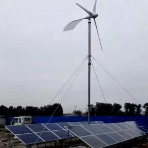 西藏20kw永磁风力发电机 风光互补太阳能系统
