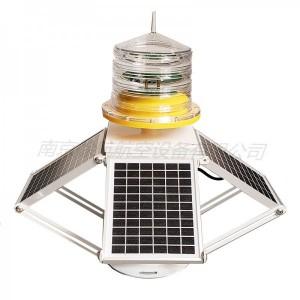 太阳能中光强障碍灯