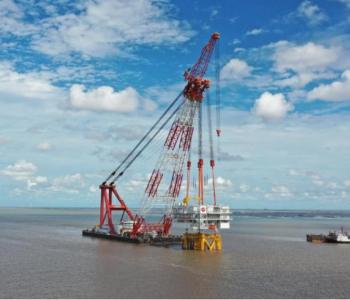 我国首个中外合资海上风电项目落地江苏盐城