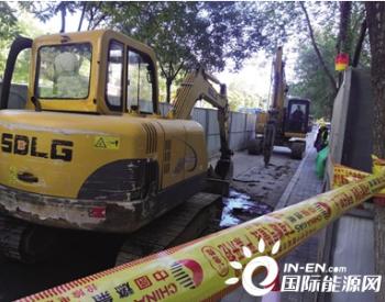燃气公司对内蒙古呼和浩特市10条道路的地下燃气管