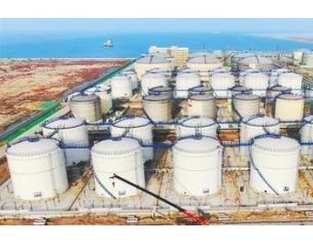 泰地液化码头石化原油储备库区一期将运营