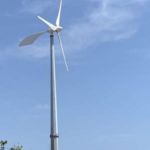 家用型10kw风力发电机 永磁发电效果