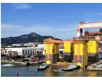 """中海油陵水17-2气田万吨""""巨无霸""""大合龙"""