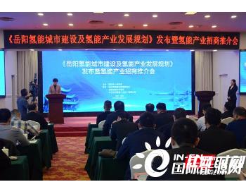 找优势抓机遇,湖南岳阳打造<em>氢能城市</em>