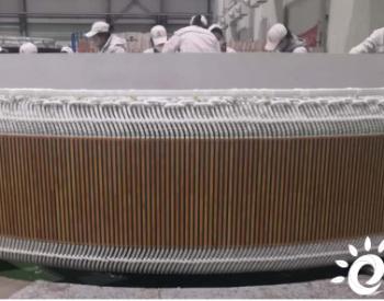 江苏中车电机创新突破:记1S直驱永磁风力发电机研制