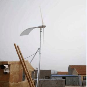 新型风能发电机_稀土永磁发电机_蓝润多规格可选
