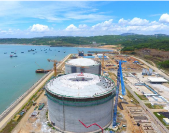 福建省漳州LNG項目土建施工全面完成
