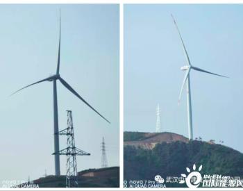 河南甘山风电项目风机吊装全部完成