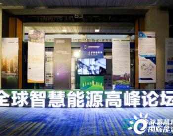 聚焦智慧能源 共商发展大计 2020全球智慧能源高峰论坛在南京举行