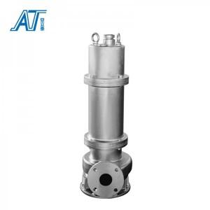 不锈钢防爆潜水排污泵WQB20-20-3