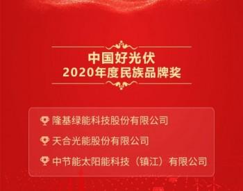 2020中国好光伏—<em>民族品牌</em>奖排名