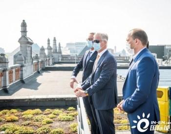 国王来了!比利时国王视察晶澳供货组件的光伏电站