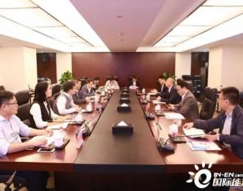 尚德新能源总裁唐骏拜访浙商中拓集团