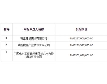 中标|中广核河北宁晋县(<em>光伏</em>厂区1#、2#地块)复合项目EPC总承包工程中标候选人公示
