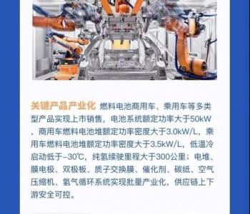 一图读懂《上海市燃料电池汽车产业创新发展实施计