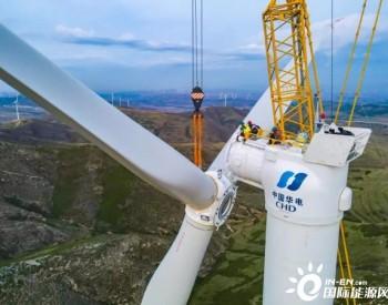 闻风起舞 华电山西平鲁项目风机吊装侧记