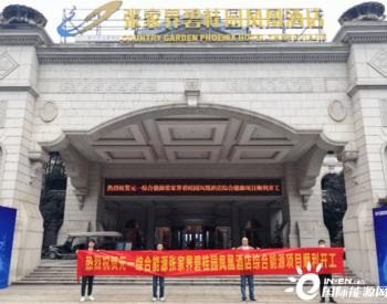 元一综合能源张家界碧桂园凤凰酒店综合能源项目顺