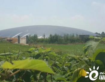 黑膜沼气池利用强排渣井和强排污泵实现自动循环!