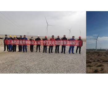 100MW,<em>青海</em>草雄风电项目顺利投运