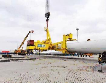 """上海锡华全回转单叶片吊具助力上海电气为大兆瓦海上风机安装施工""""亮剑"""""""