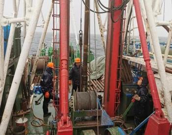 中国石化上海海洋石油局首个海上风电场址勘察外业告捷!