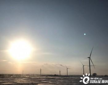 50MW,龙源工程河北张家口康保一期50MW风电风机吊装完成