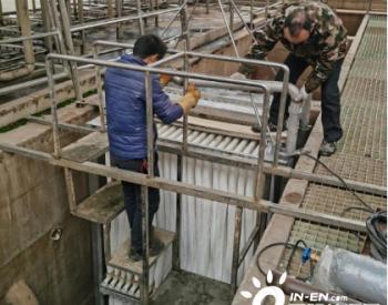 """湖南株洲龙泉污水处理厂三期换上""""超滤膜"""""""