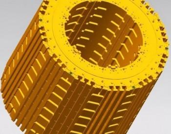 哈电电机发电电动机环形锻件磁轭结构技术获中国发