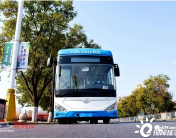 长安氢燃料电池城市客车上路首秀,综合续航达500多公里