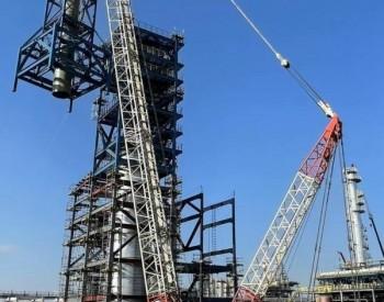 北海<em>炼化项目</em>烟气脱硫单元综合塔框架顺利封顶!